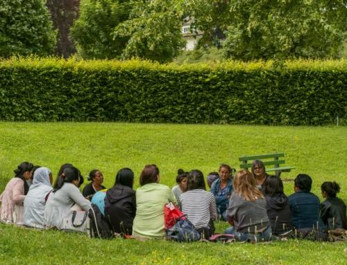 Cours de français dans les parcs 2020